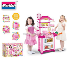 best selling toys kitchen play set with light and sound kitchen toy
