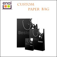 2015 new design promotional channel paper bag for woman