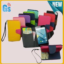 2015 Fashion Design Wallet Flip Leather Phone Case For Blu Studio G D790U