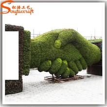 songtao best price top qualilty beautiful landscape grass artificial topiary tree/plant artificial tree for weddings