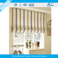 Elegant Roman Blinds with polyester fabric