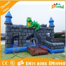 new design outdoor inflatable dinosaur bouncer/inflatable bouncer jumper