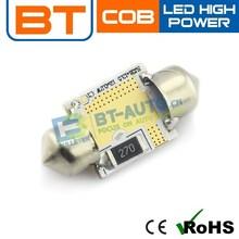 12v Led Auto Bulb,Festoon Led Light 42mm Warm White,12v Festoon Led Light Bulbs