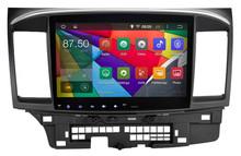 10.2 inch Android 4.4.4 Stereo for Mitsubishi Lancer GPS 1024*600 1.6G CPU Radio headunit free map GPS navi browser navi 335USD