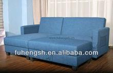 Cadre en bois coupe canapé - lit avec stockage / en forme de L canapé - lit / canapé - lit pliant à vendre