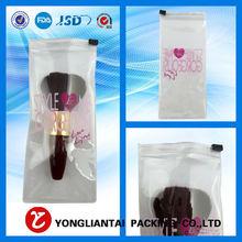 Alibaba hot sale pvc bag/pvc ziplock bag for beauty product