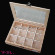 Hot selling wooden handmade cute tea packaging gift box tea box,stylish tea gift packaging box