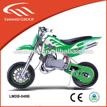 mini 49cc de gas de la motocicleta para los niños