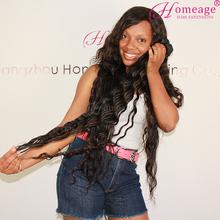 Homeage unprocessed vigin curly hair wholesale 5a 100% virgin brazilian hair
