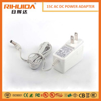 15 watt 5V3A wall mount charger for tablet