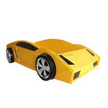 Ferrari car shape bed kids furniture kid racing car bed