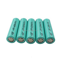 Rechargeable 3.7V/2200mAh 18650 li ion battery for torch, power bank, UPS,lighting