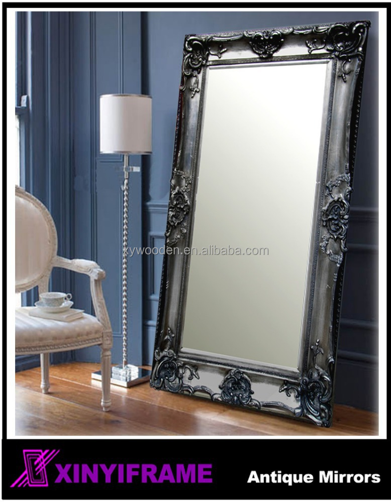 Hot sale euro style decorative mirror large mirror wall for Large wall mirrors for sale