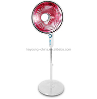 Popular high quality 2014 best selling stand fan shaped halogen heater and carbon fiber heater