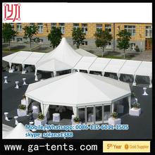 aluminium frame fire,water,sun proof tropical tent 850G/SQM top cover 650G/SQM sidewall