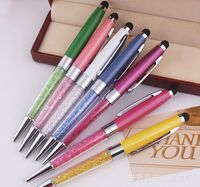 Factory Wholesale Pens Crystal stylus pens full color crystal touch pens fashion Business gifts items