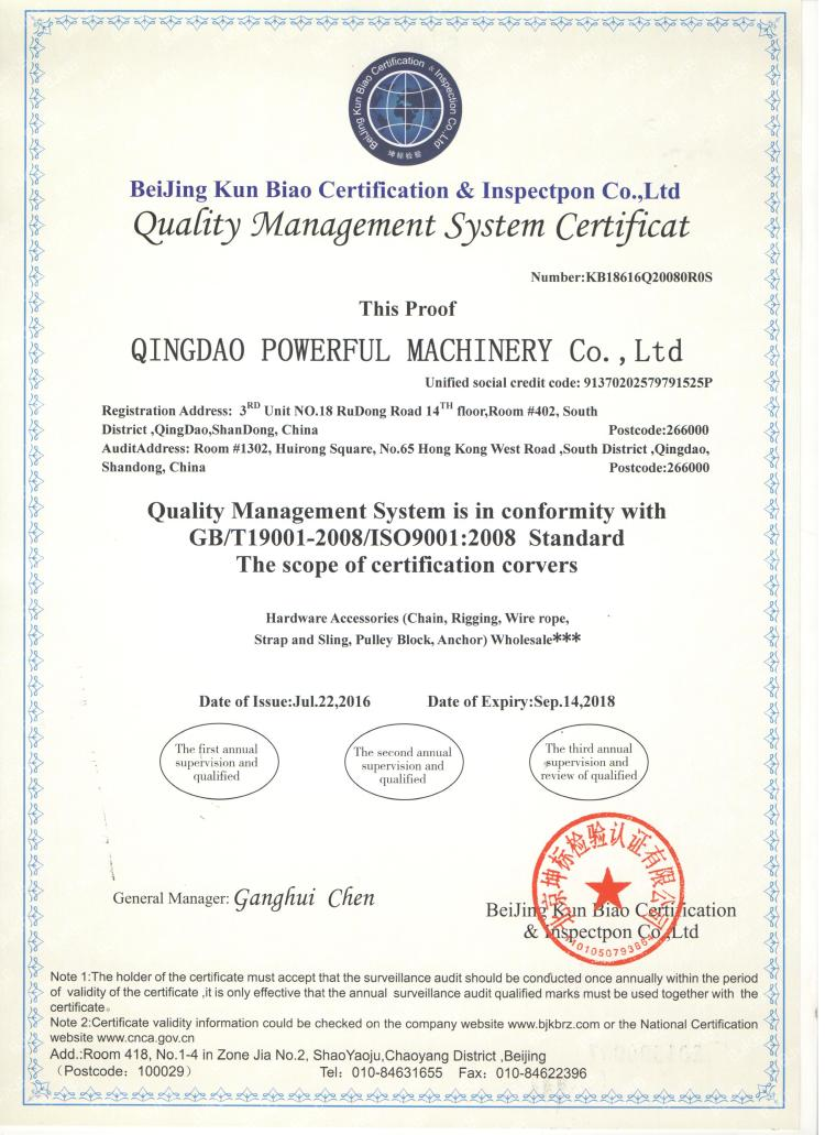20 Ton Heavy Duty Industrial Rigging With Safety Wire Rope Stainless ...