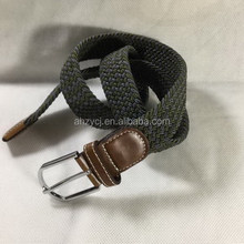 2016 Stretch Elastic Braided Belt For Men