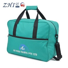 ZQ-B-015 Dongguan Canvas factory outlet cheap waterproof simple business travel luggage bag