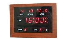 electric calendar clock