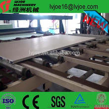 Global and long-term paper faced gypsum board making machine