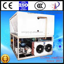 Hanbell screw compressor water chilling unit /freon brine refrigerating installation