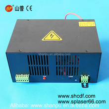 high quality 50W Co2 laser power supply for laser tube 100mm length for 5030 4040 6040 Co2 laser cutting/engraving machines