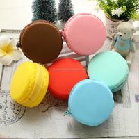 Promotion Cute Smart Macaron Silicone coin Purse
