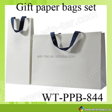 WT-PPB-844 custom t shirt packaging paper bag