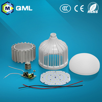 20w 30w 40w 50w 60w led light bulb parts skd /ckd IC driver warm white or white hot sell
