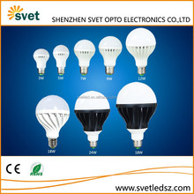 Cool white and warm white good quality cheap plastic led bulb