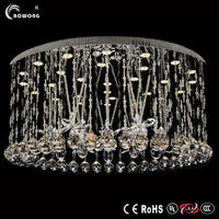 Fancy crystal chandelier parts