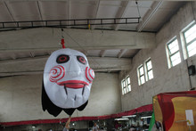 halloween ghost mask inflatable