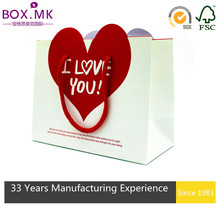 Promotion Red And White Heart Shape Bag Asia Corporation