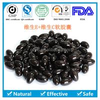nature top quality health care food Vitamin C + E soft capsule
