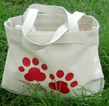 2015 long tote bag cotton shopping bag