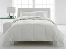 high quality down feather alternative quilt/ Comforter in 100% cotton sateen fabric MS-249