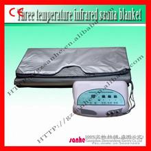 2015 hot sale portable Spa Body Heat Infrared Thermal sauna Slimming Blanket