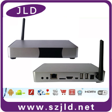 Newest metal case Amlogic s802 android tv box with led screen MXQ android media display
