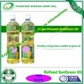 china origen aceite de girasol refinado