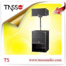 Guangzhou fábrica profesional de la cubierta Pasiva Sistema de audio para el concierto