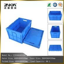 solid type Plastic Material clear plastic moving boxes for packaging usage