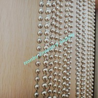 office partition used silver color metal bead chain curtain