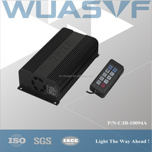 100 W car amplifier with with handheld controller