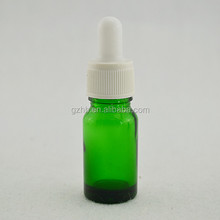 Largest Domestic Bottle Glass Manufacturer/ 10ml empty green china bottle glass
