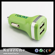 Promotional Output DC 5.0V 2.1A Portable Dual USB Car Charger
