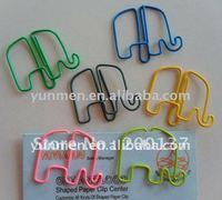 P108 office & school supplies cute Elephant shaped paper clip