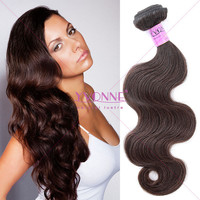 #2 Weave color grade 5a body wave peruvian remy human hair