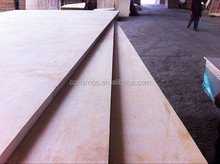 Consmos plain/veneer/melamine block board E0 E1 E2 glue CE CARB FSC certification for furniture and decoration