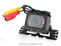 100% waterproof high quality reverse car camera night vision rearview backup auto parking camera with IR LED lights